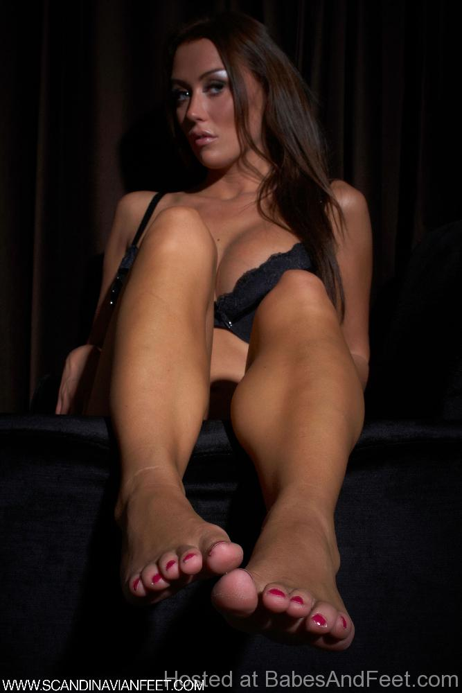 Candid shoeplay feet dangling flats during meeting - 3 part 6